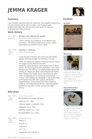 Sample Resume For Kitchen Helper by Kitchen Resume Samples Visualcv Resume Samples Database