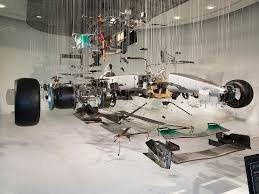 mercedes brooklands mercedes f1 car in pieces picture of mercedes at