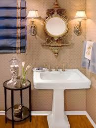 half bathroom powder room hgtv simple elegance