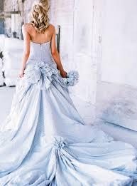 Blue Wedding Dress 26 Serenity Blue Wedding Dresses That Inspire Weddingomania