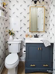 best 25 small bathroom wallpaper ideas on pinterest powder room