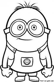 11 minions images coloring coloring