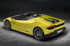 porsche spyder yellow lamborghini huracan spyder goes rear wheel drive for 2017 by car