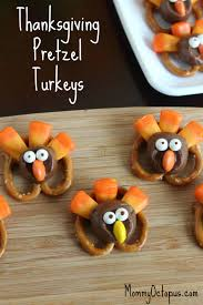 12 5 minute thanksgiving treats turkey thanksgiving and pretzels