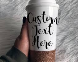 custom travel mugs etsy