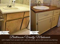Win Bathroom Makeover - bathroom makeover day 2 my 35 diy wood countertop an 2 and