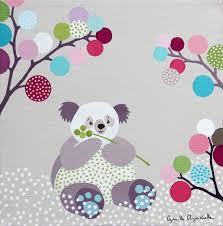 tableau pour chambre bebe camille chincholle illustratrice tableau pour enfant