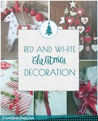Blue And White Christmas Decorations Ideas by Tuesday Hues Red And White Christmas Decorations 30 Something