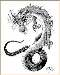 39 best japanese dragon tattoo flash images on pinterest dragons