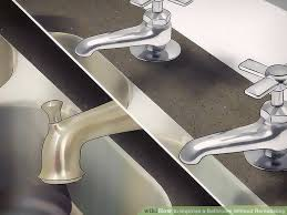 Steps To Remodel A Bathroom 3 Ways To Improve A Bathroom Without Remodeling Wikihow