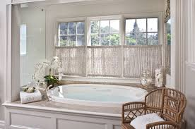 Inside Mount Window Treatments - inside mount curtain bathroom contemporary with white bathroom