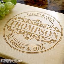 personalized cutting board wedding top 25 best personalized cutting boards