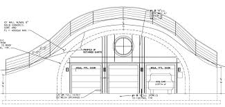 earth homes floor plans quonset hut house floor plan excellent garage rebar layout plans