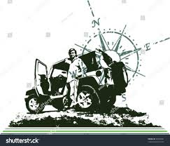 jeep front silhouette compass traveling jeep adventure stock vector 26495491 shutterstock