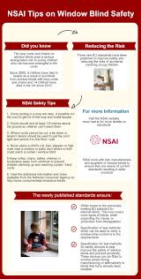 nsai nsai standards to protect children from window blind cords