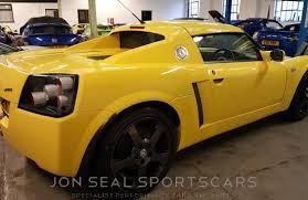 vauxhall yellow jon seal sportscars vauxhall 2002