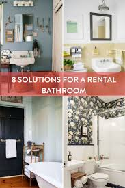Bathroom Wall Ideas On A Budget The 25 Best Rental Bathroom Ideas On Pinterest Small Rental
