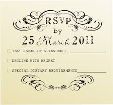Invitation Card With Rsvp Diy Rsvp Stamp Wedding Invitations Stationery Stamper Custom