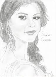 selena gomez drawing rowanlake99 2017 jul 3 2013