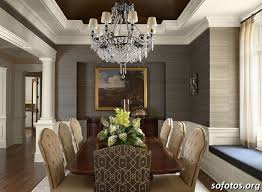 wallpaper ideas for dining room the 25 best sala de jantar decorada com gesso ideas on