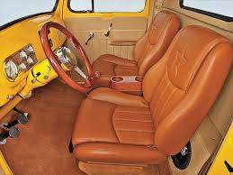 Ford Truck Interior 1950 Ford F 1 Custom Interior Truck Ideas Likes Pinterest