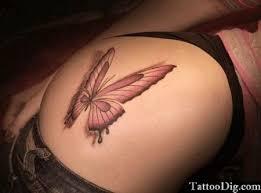 3d butterfly hip thigh 3d