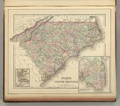 Nc Counties Map North Carolina