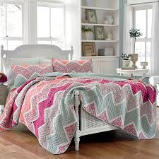 bedroom colorful laura ashley bedding with white headboard and