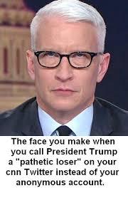 Anderson Cooper Meme - anderson cooper on the meme farm sad the donald