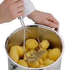 kitchen gadgets stainless steel potato mud pressure mud machine
