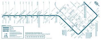 baltimore light rail map baltimorelink schedules all modes maryland transit administration