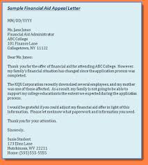 appealing letter for financial aid appeal letter 3 png sales