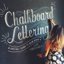 the 25 best chalk lettering ideas on pinterest chalkboard