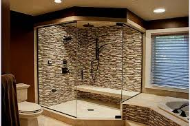 bathroom molding ideas bathrooms showers designs blue painted wall modern shower features