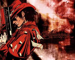 wallpapers de alucard hellsing red alucard hellsing ul ima e abridged pinterest