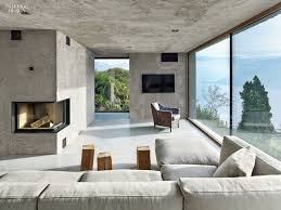 a view to a thrill swiss alps bring drama to vacation house