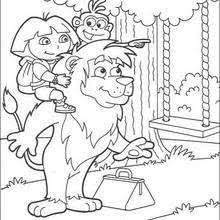 happy birthday boots coloring pages hellokids