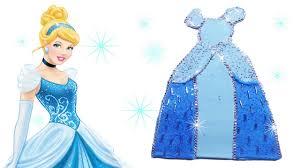 diy disney princess cinderella play doh dress how to make
