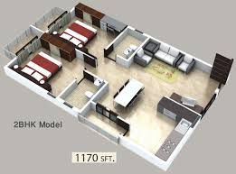 1170 sq ft 2 bhk 2t apartment for sale in peony projects sai