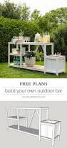 Free Diy Pool Table Plans by Best 25 Outdoor Bar Table Ideas On Pinterest Outdoor Bars Bar