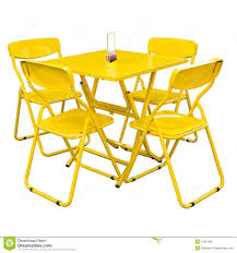 White Metal Chairs Outdoor Metal Outdoor Table And Chairs Stock Photo Image 32257610
