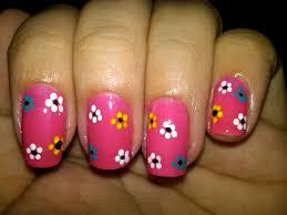 nail art flower designs cute nails for women