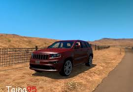 jeep grand cherokee 2017 srt8 jeep grand cherokee srt8 1 0 for ats euro truck simulator 2 mods