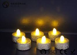 outdoor led tea lights outdoor led tea light candles with dusted long operating life set of 6