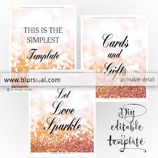 wedding signs template 8x10 diy printable sign templates for word make your own