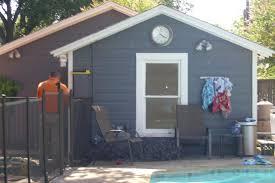 shabby chic pool house bobo design build