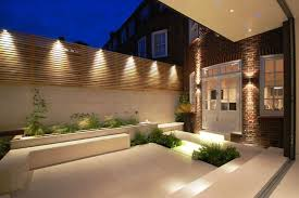 Solar Lights Patio by Triyae Com U003d Backyard Lights On Fence Various Design Inspiration
