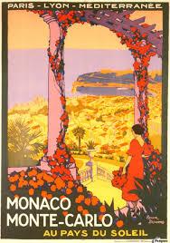 Monte Carle Monaco Monte Carlo 1920 Vintage Poster Vintage Poster Canvas
