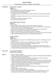 Auditor Resume Sample Night Auditor Resume Samples Velvet Jobs