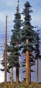 coastmans custom tree kit douglas fir trees n ho o scale 5